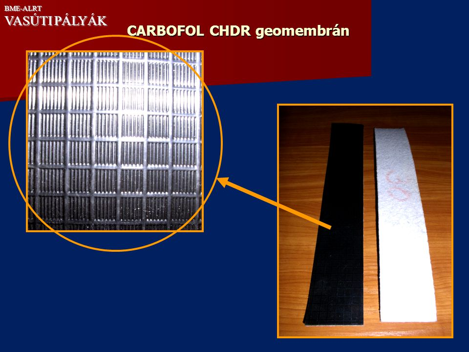 CARBOFOL CHDR geomembrán