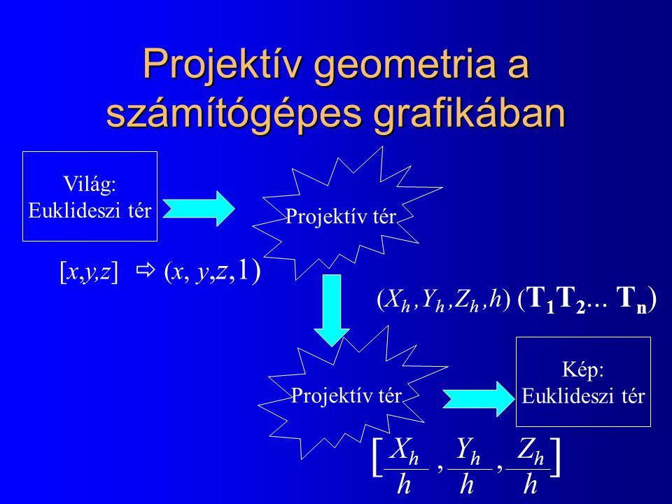 Projektív geometria a számítógépes grafikában