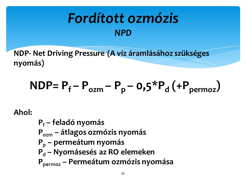 NDP= Pf – Pozm – Pp – 0,5*Pd (+Ppermoz)