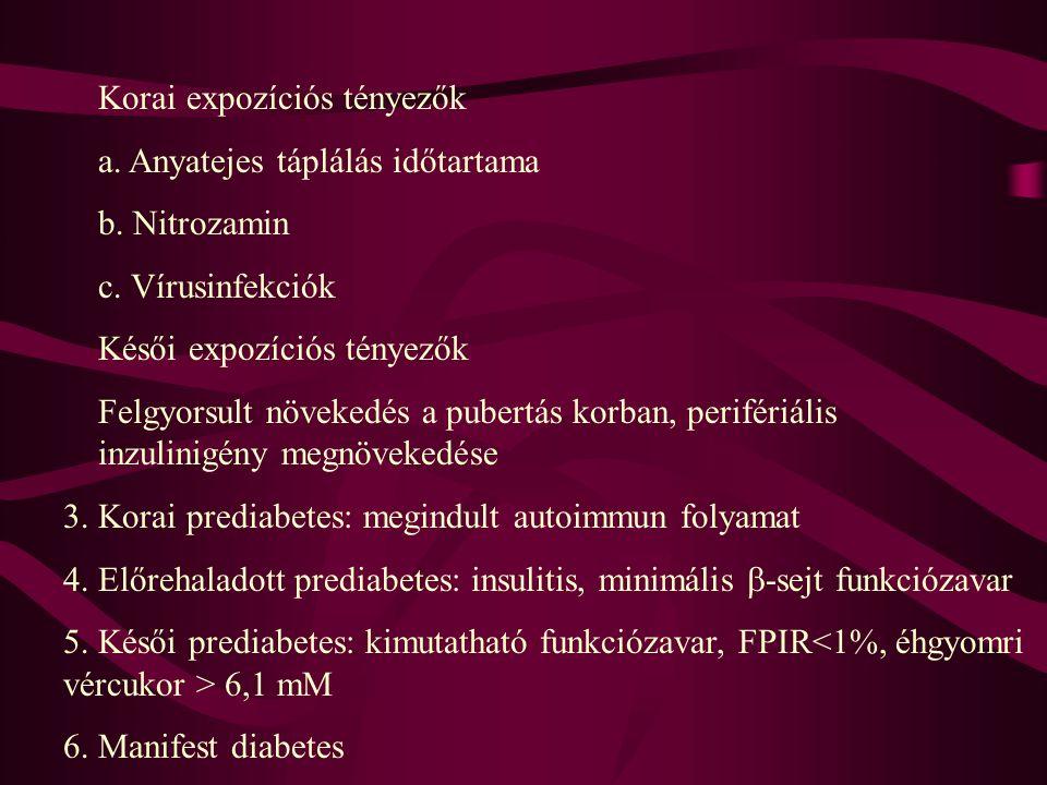 Korai expozíciós tényezők