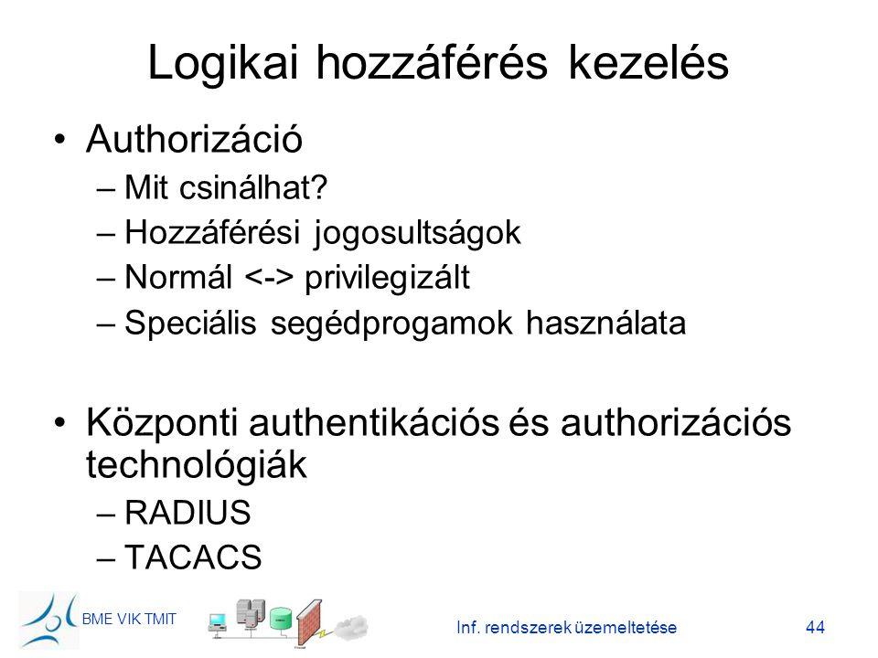 Logikai hozzáférés kezelés