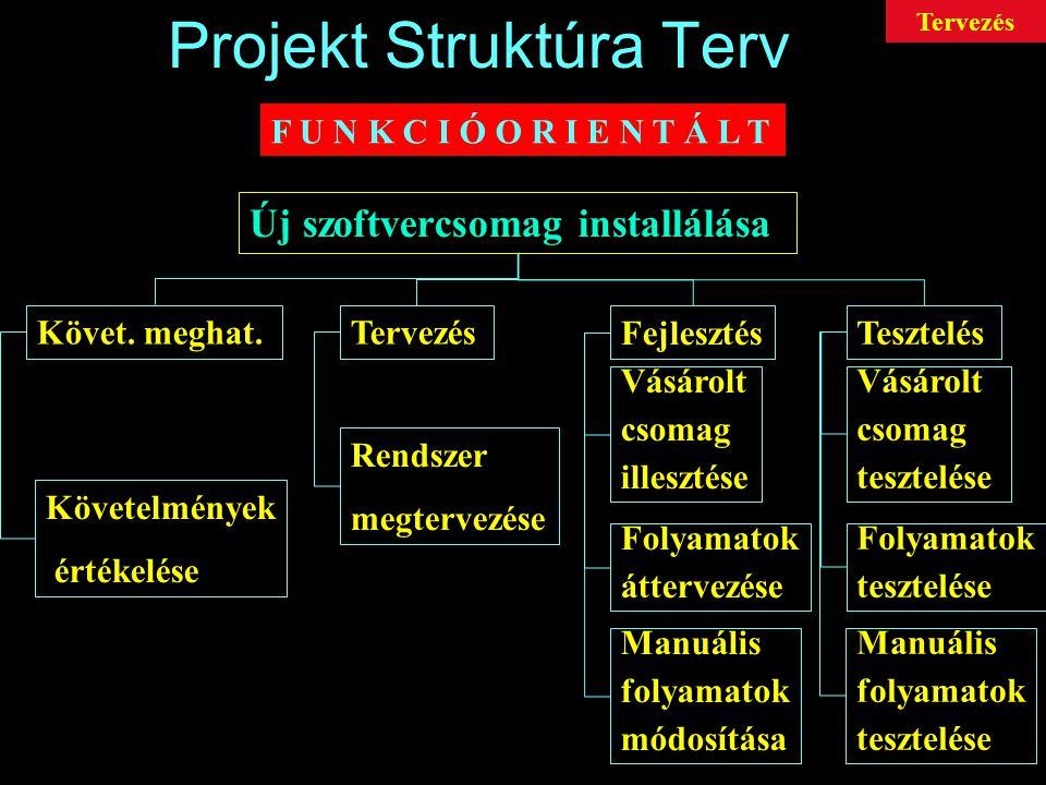 Projekt Struktúra Terv