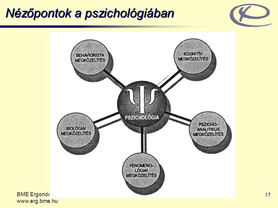 Nézőpontok a pszichológiában