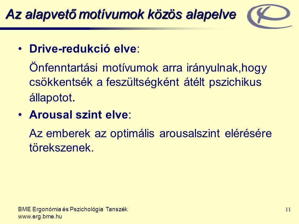 Az alapvető motívumok közös alapelve