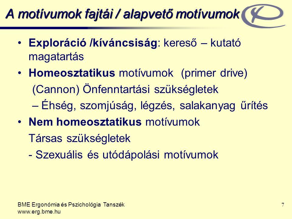 A motívumok fajtái / alapvető motívumok