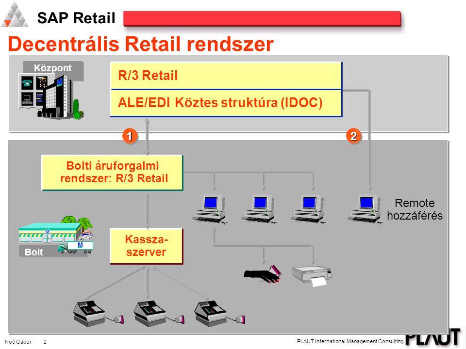 Decentrális Retail rendszer