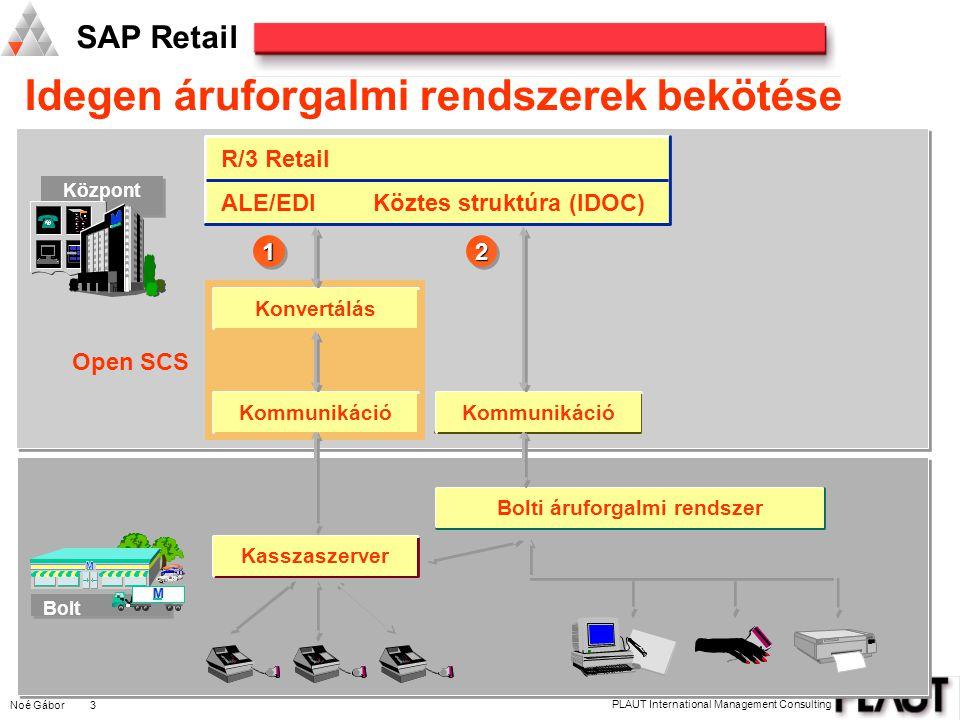Idegen áruforgalmi rendszerek bekötése