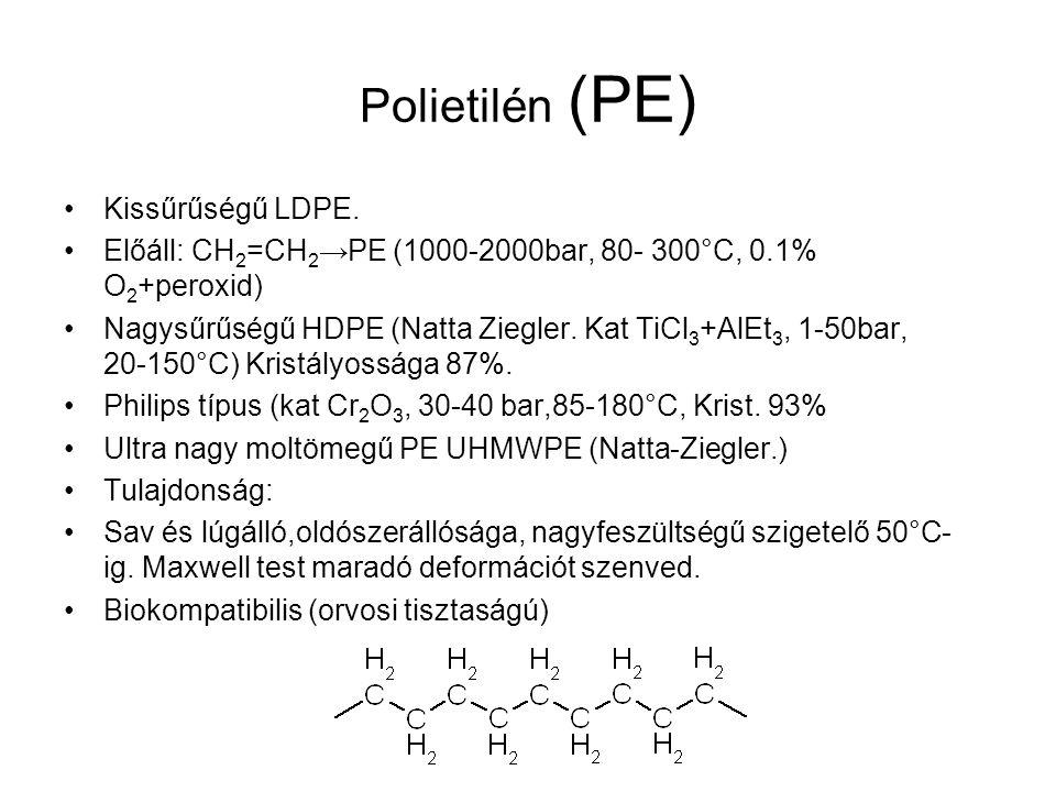 Polietilén (PE) Kissűrűségű LDPE.