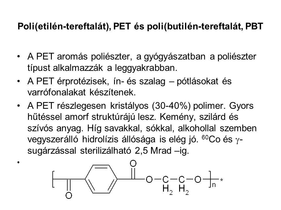 Poli(etilén-tereftalát), PET és poli(butilén-tereftalát, PBT