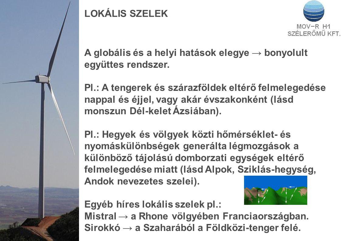 LOKÁLIS SZELEK