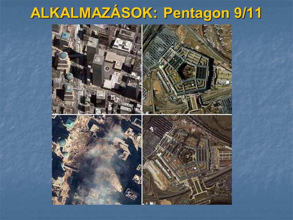 ALKALMAZÁSOK: Pentagon 9/11