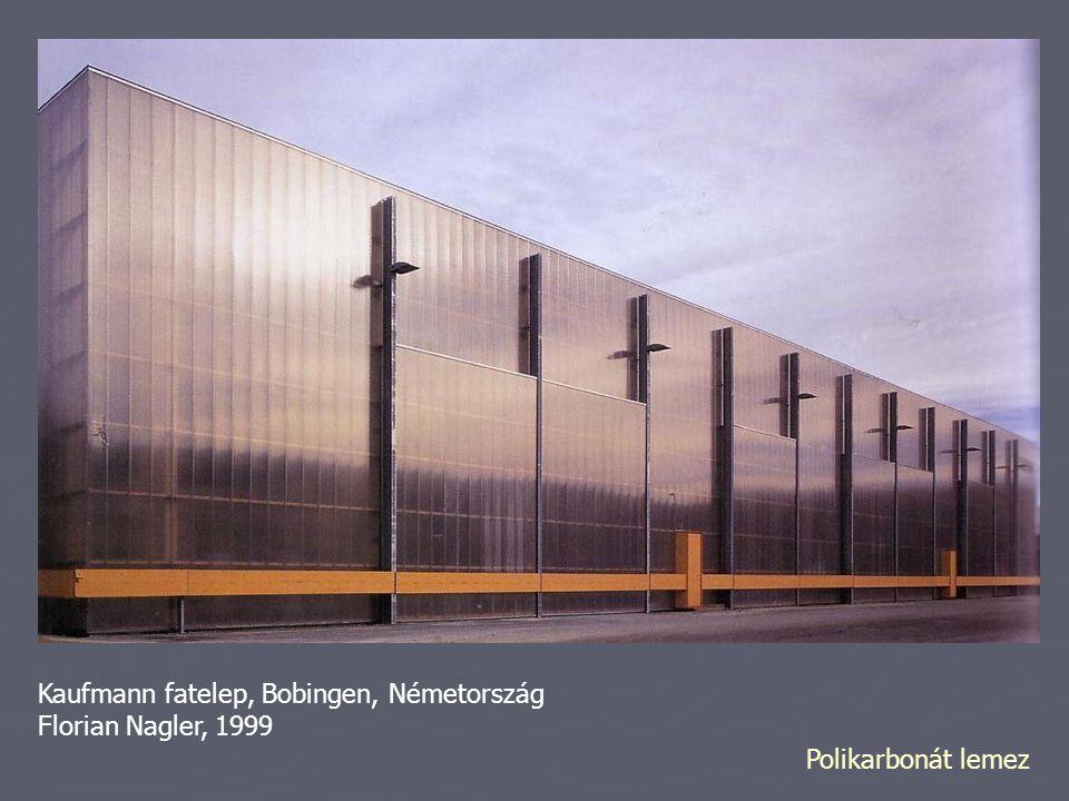 Kaufmann fatelep, Bobingen, Németország