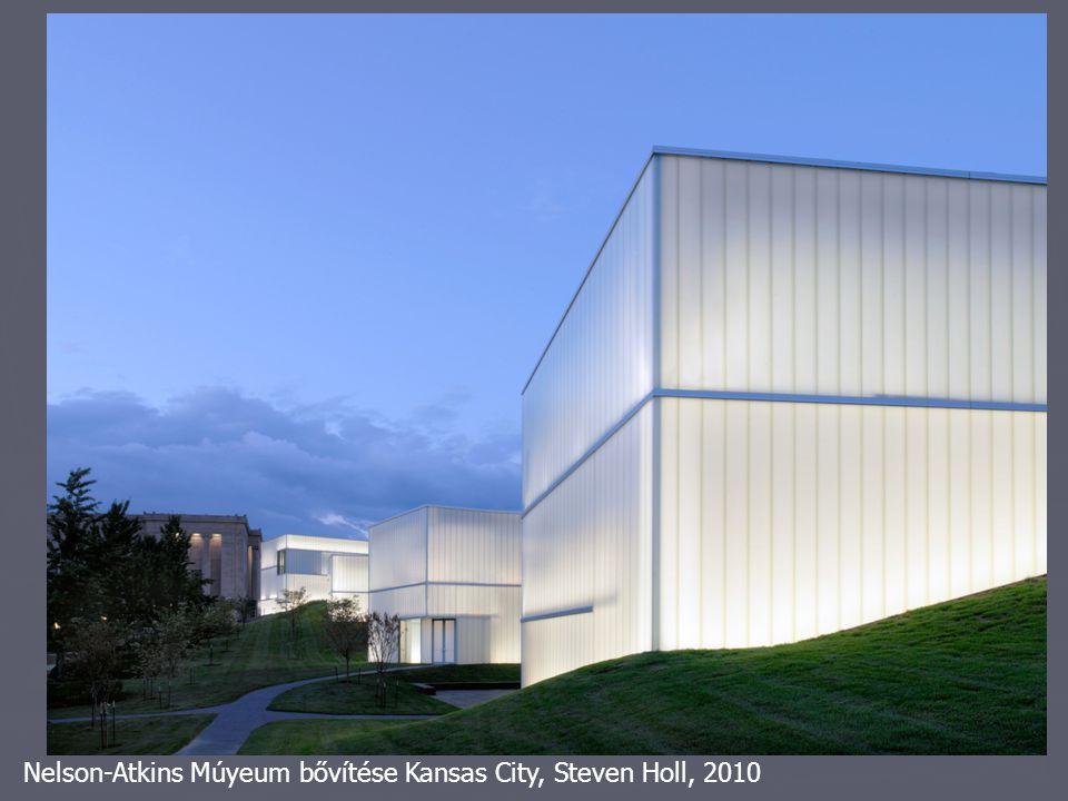 Nelson-Atkins Múyeum bővítése Kansas City, Steven Holl, 2010