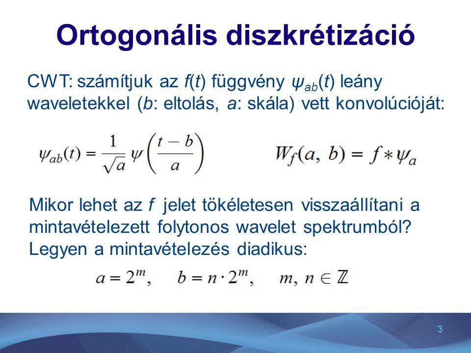 Ortogonális diszkrétizáció