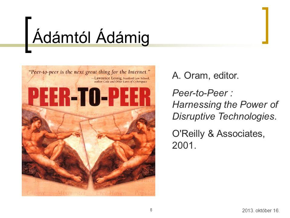 Ádámtól Ádámig A. Oram, editor.