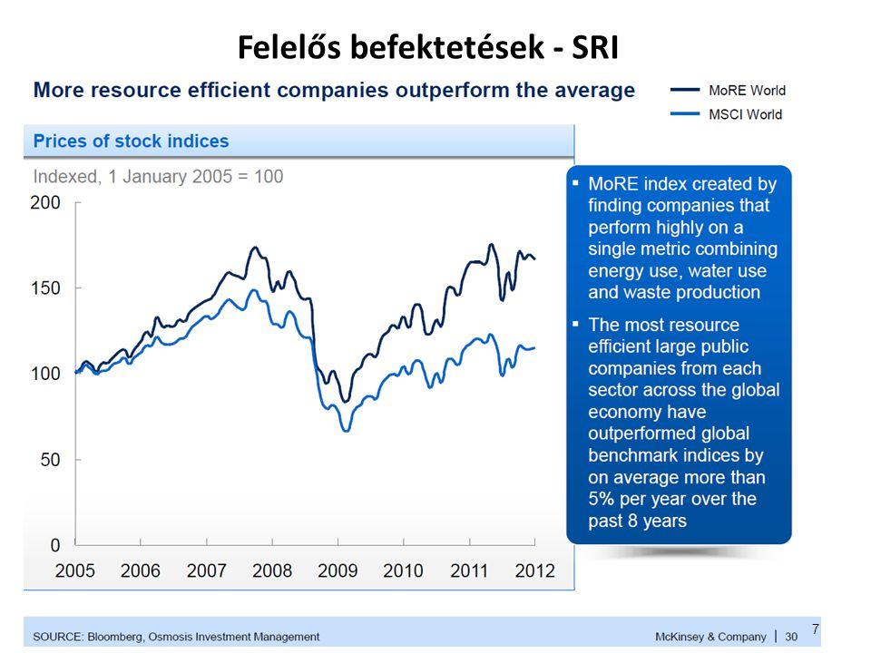 Felelős befektetések - SRI