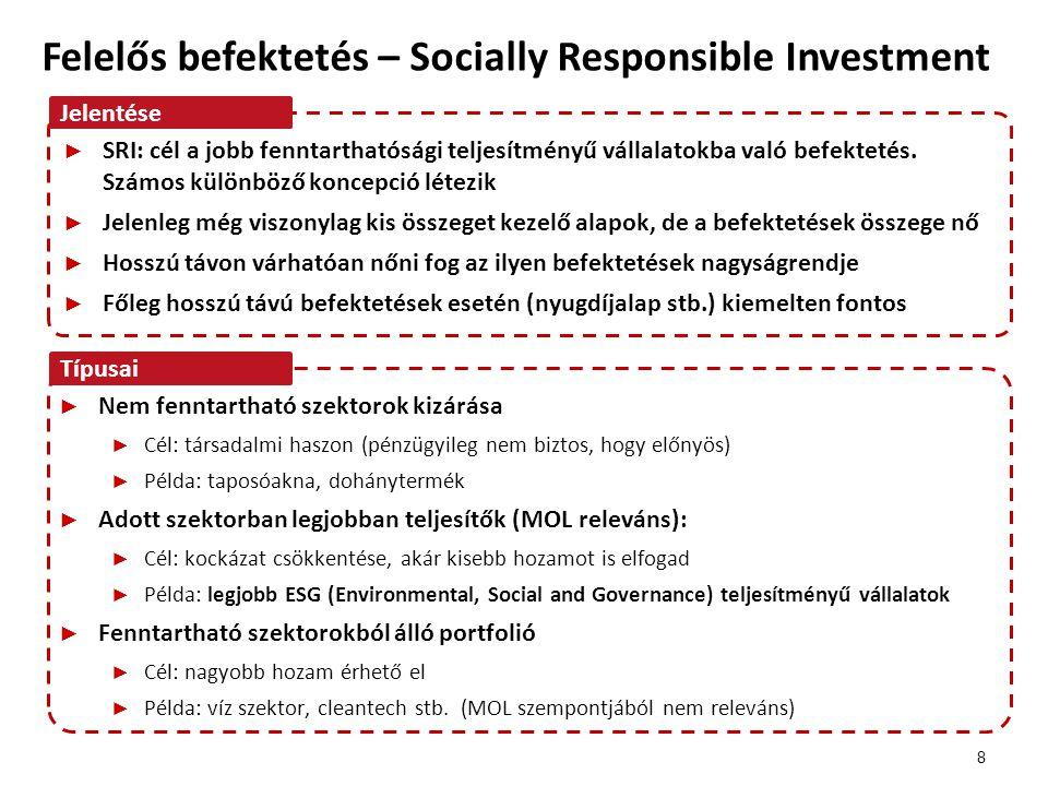 Felelős befektetés – Socially Responsible Investment