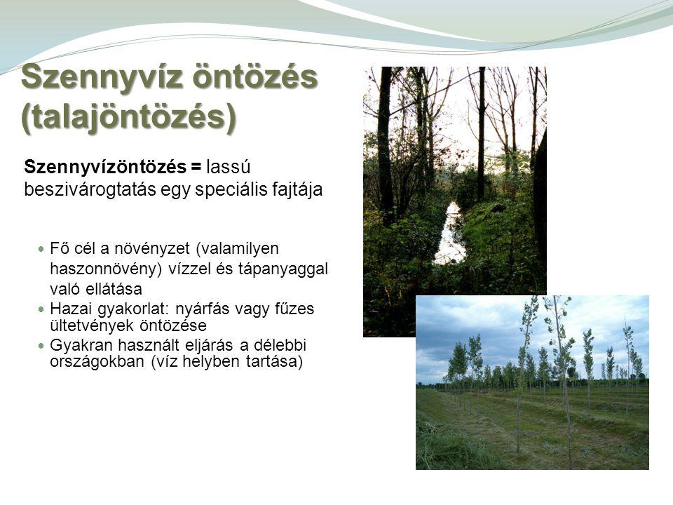 Szennyvíz öntözés (talajöntözés)