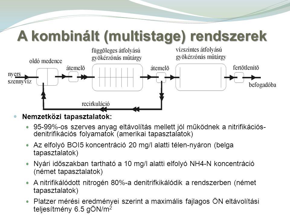 A kombinált (multistage) rendszerek