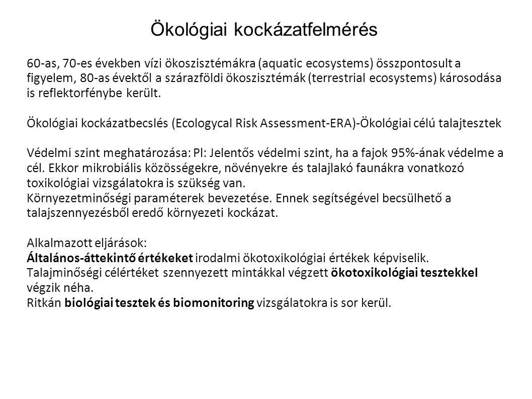 Ökológiai kockázatfelmérés