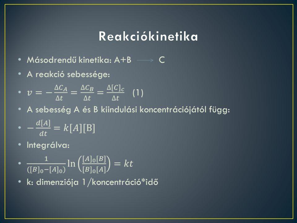 Reakciókinetika
