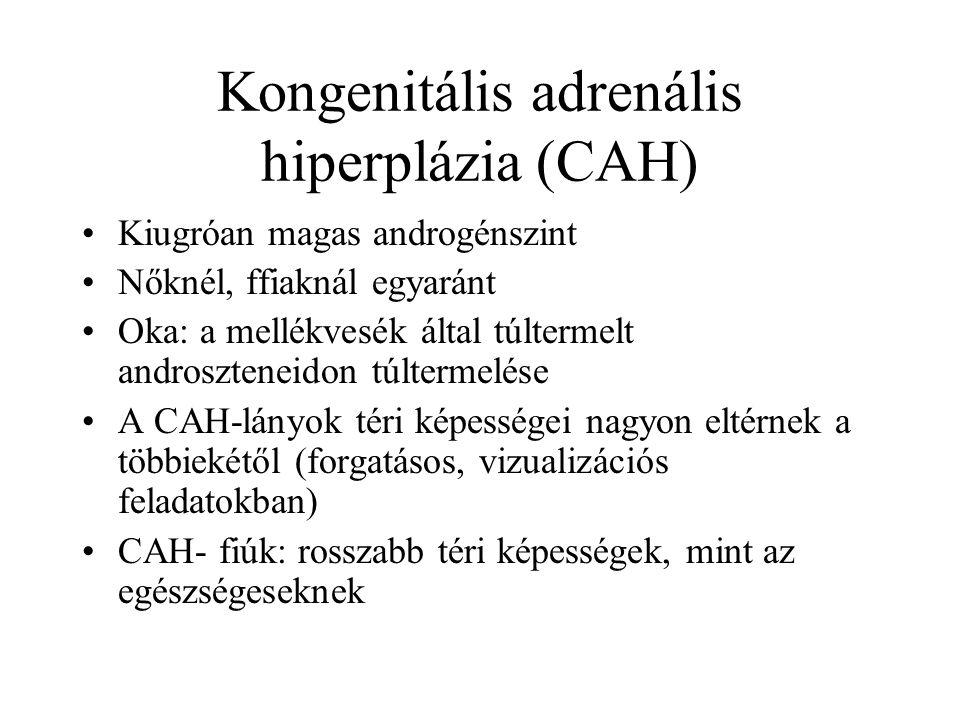 Kongenitális adrenális hiperplázia (CAH)