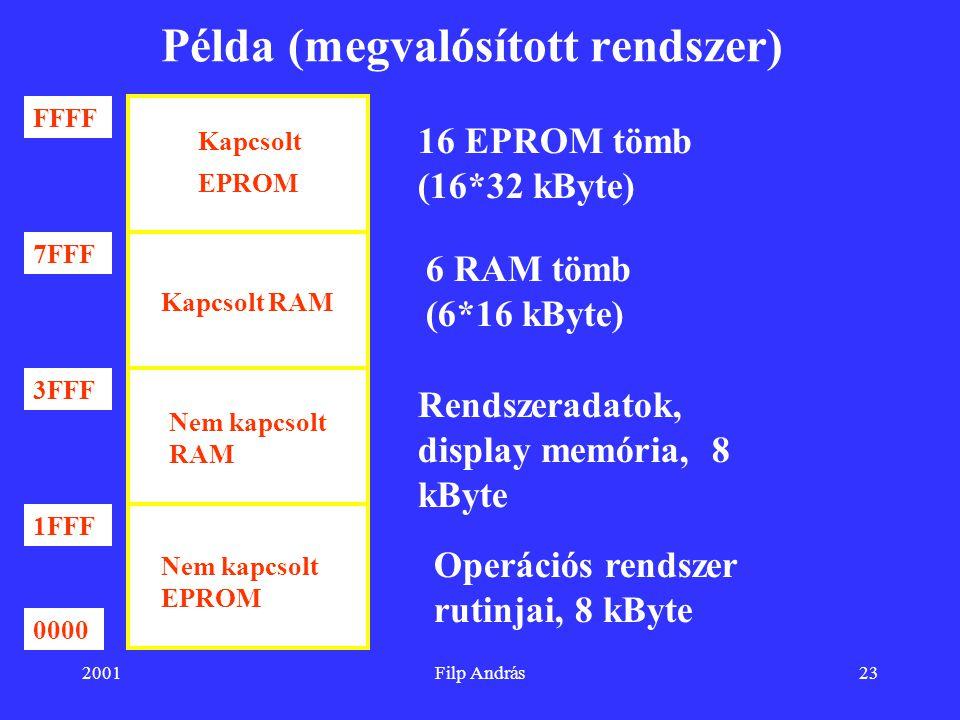 Példa (megvalósított rendszer)