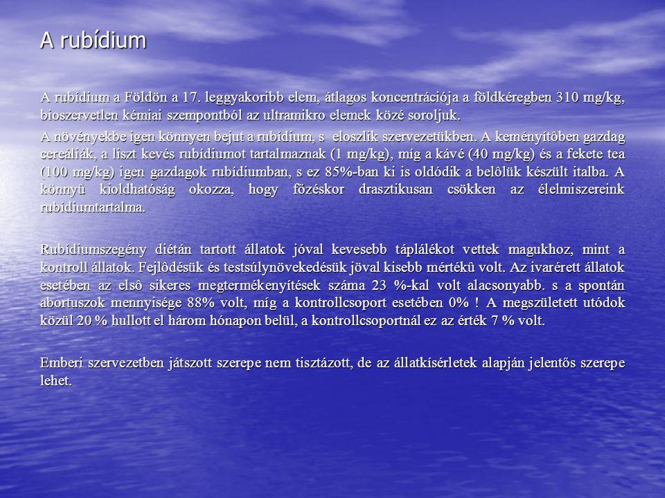 A rubídium