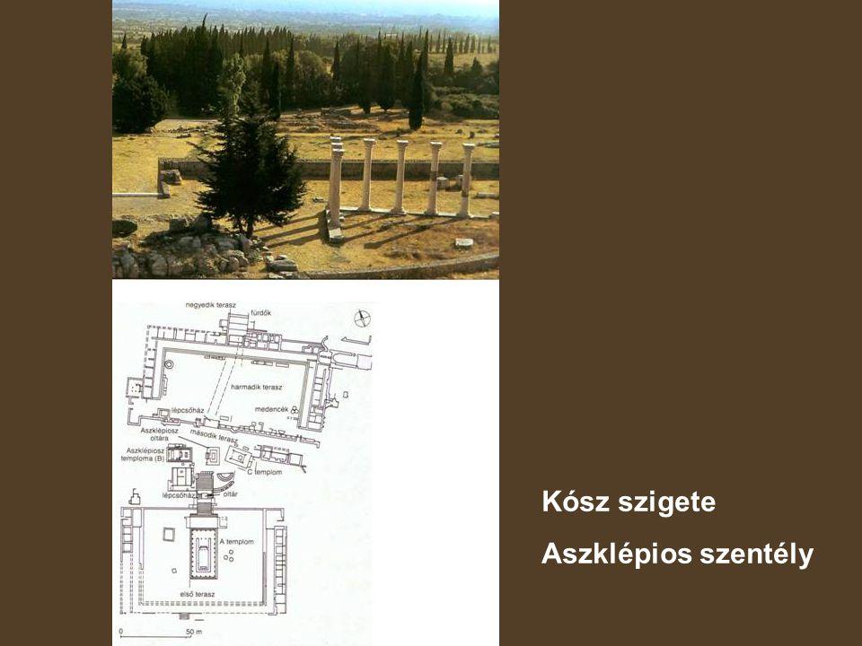Kósz szigete Aszklépios szentély