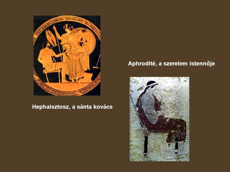 Aphrodité, a szerelem istennője