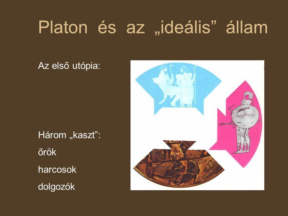 """Platon és az """"ideális állam"""