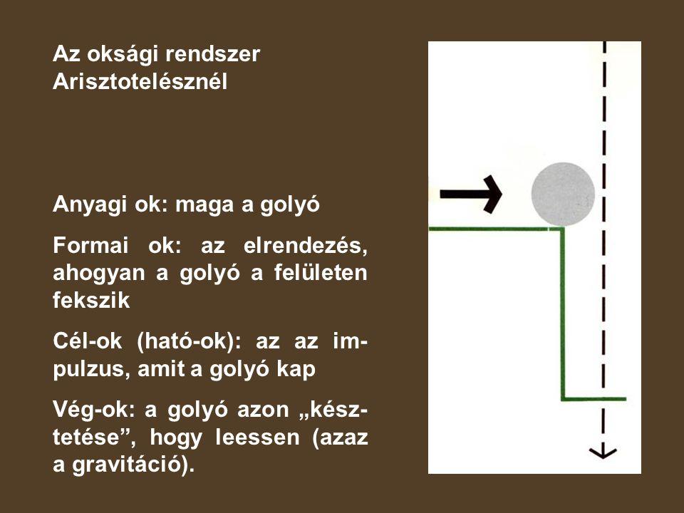 Az oksági rendszer Arisztotelésznél