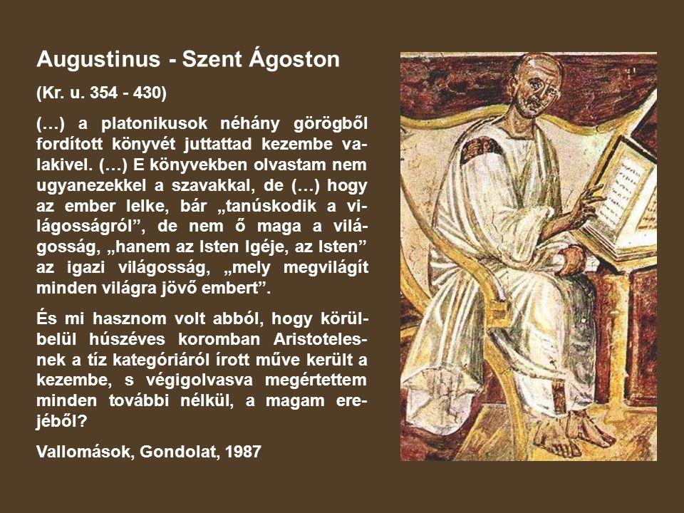 Augustinus - Szent Ágoston
