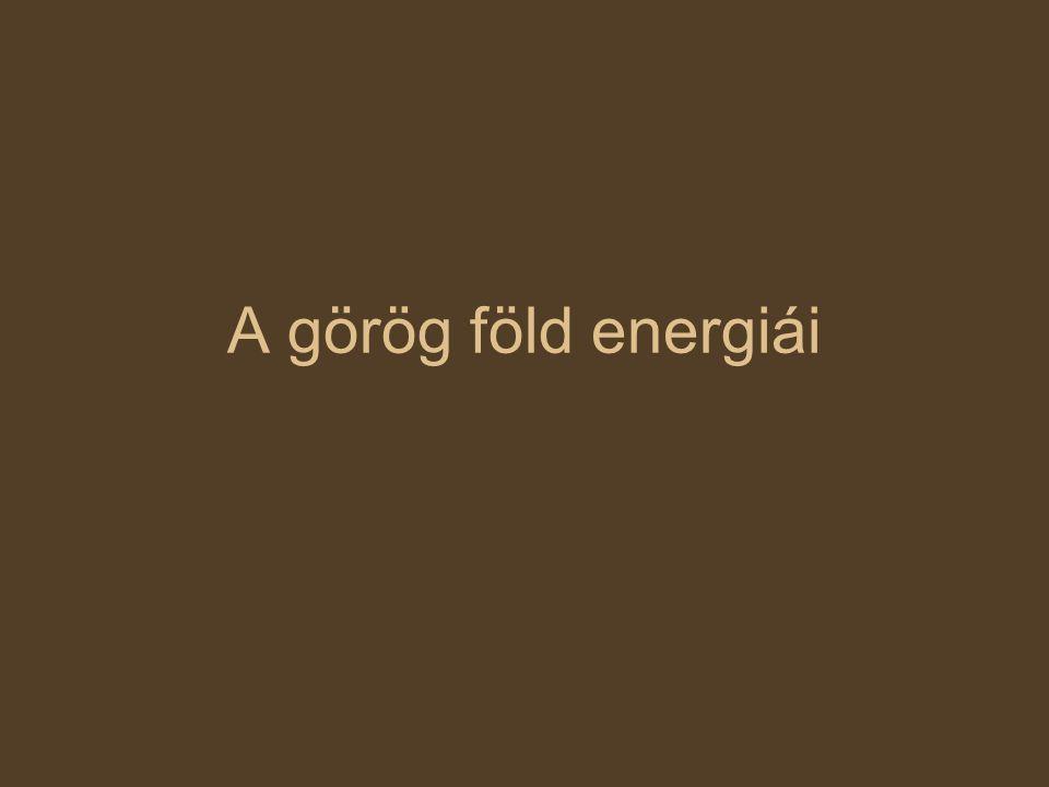 A görög föld energiái