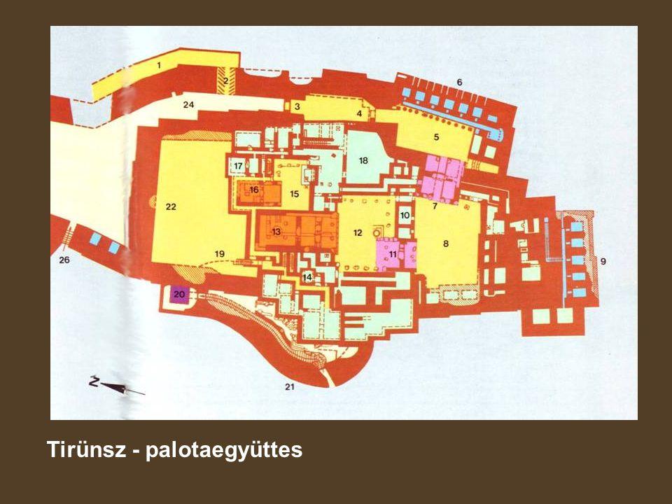 Tirünsz - palotaegyüttes