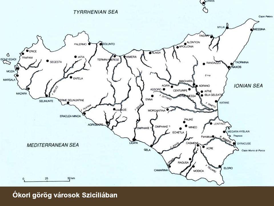 Ókori görög városok Szicíliában