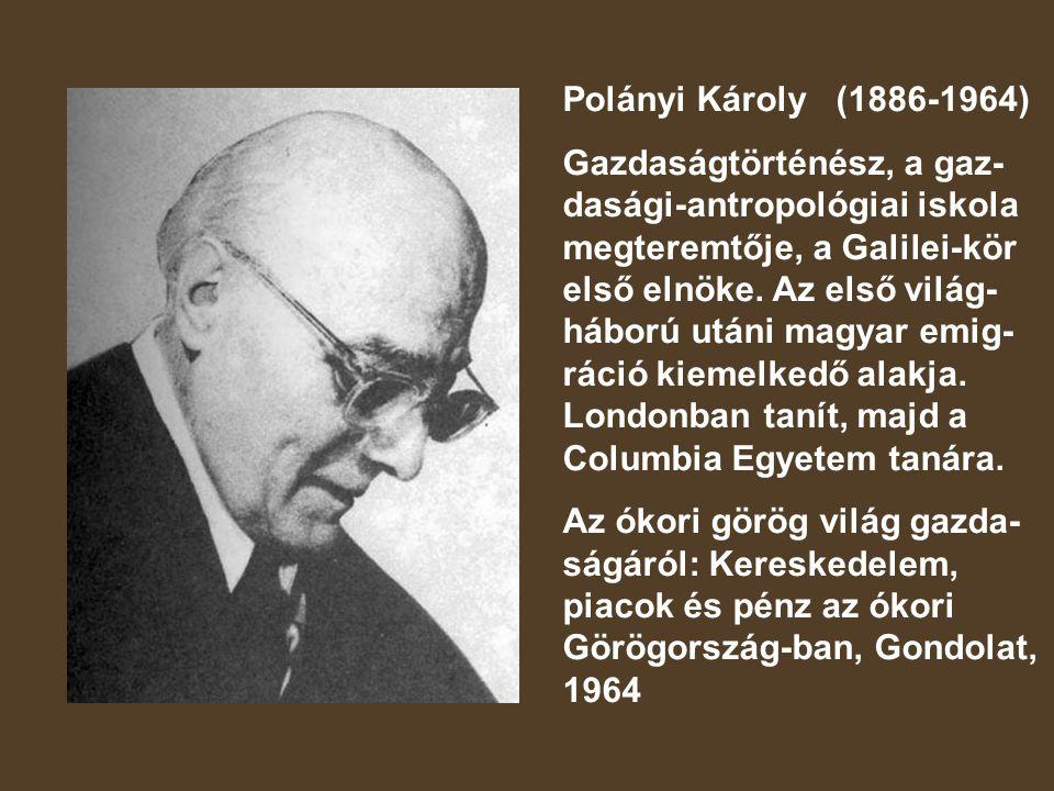 Polányi Károly (1886-1964)