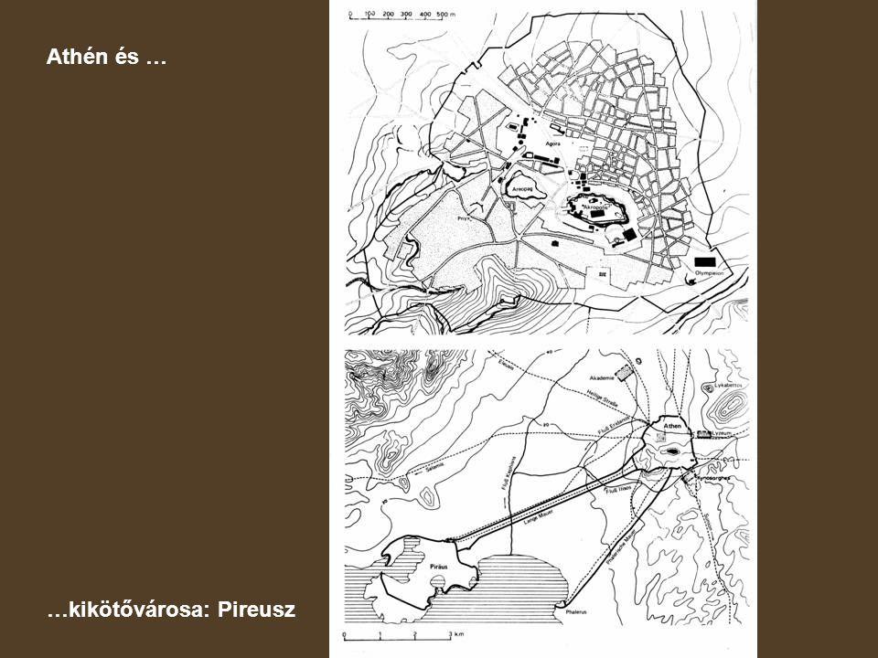 Athén és … …kikötővárosa: Pireusz