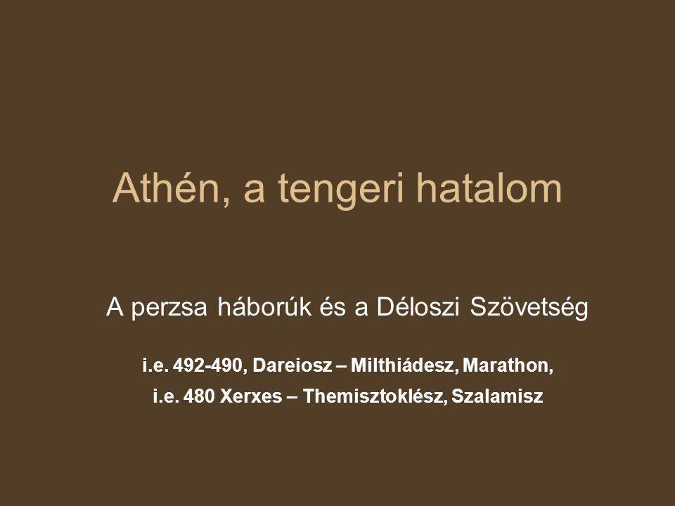 Athén, a tengeri hatalom