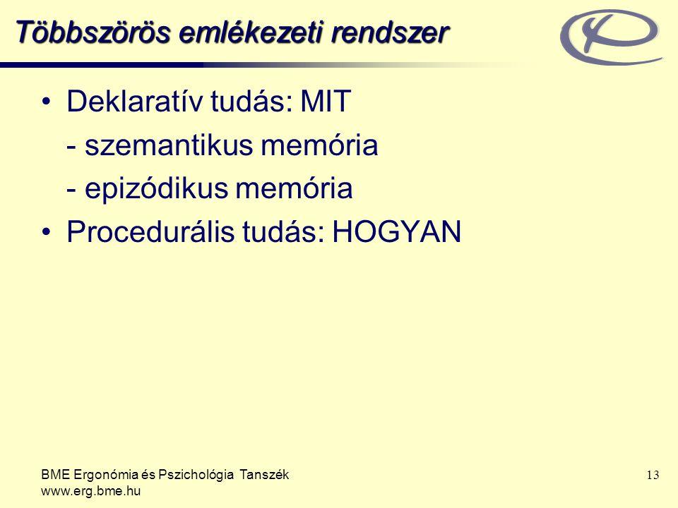 Többszörös emlékezeti rendszer
