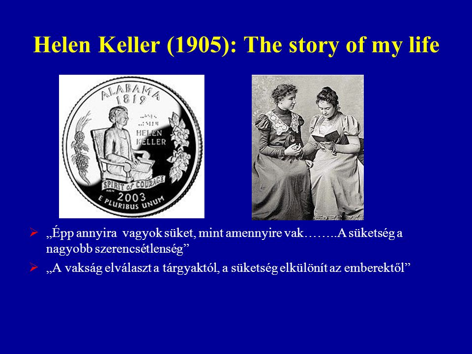 Helen Keller (1905): The story of my life