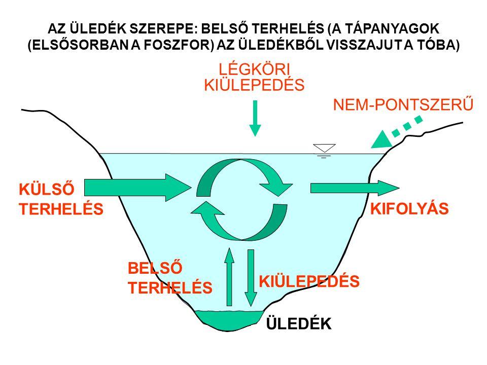 LÉGKÖRI KIÜLEPEDÉS NEM-PONTSZERŰ KÜLSŐ TERHELÉS KIFOLYÁS