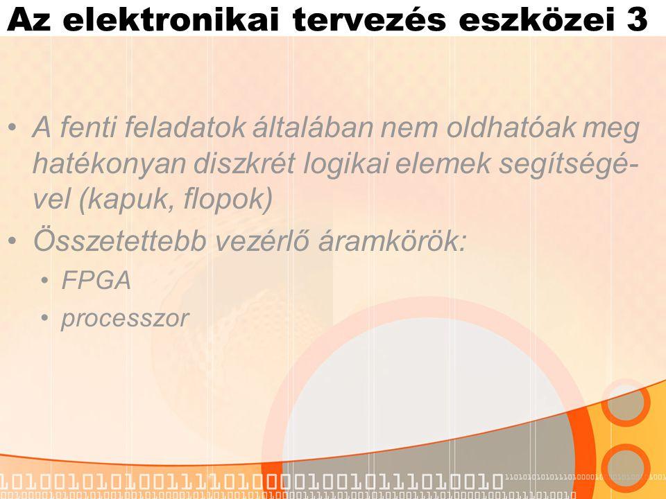 Az elektronikai tervezés eszközei 3