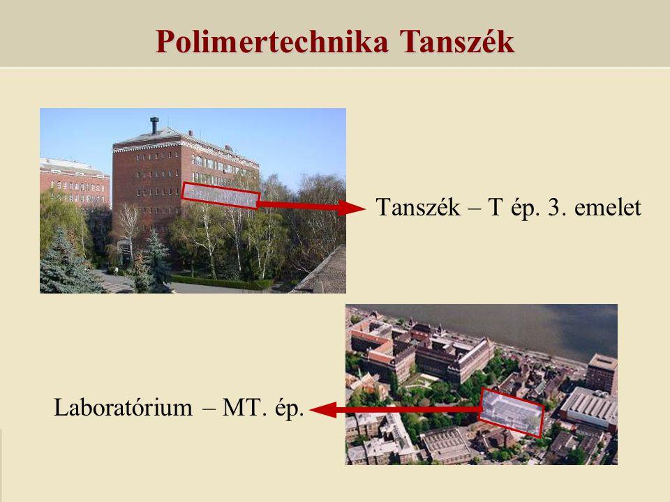 Polimertechnika Tanszék