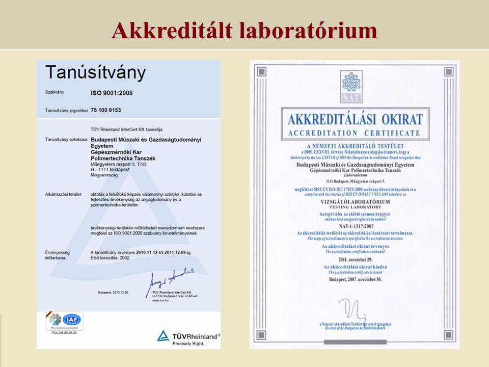 Akkreditált laboratórium