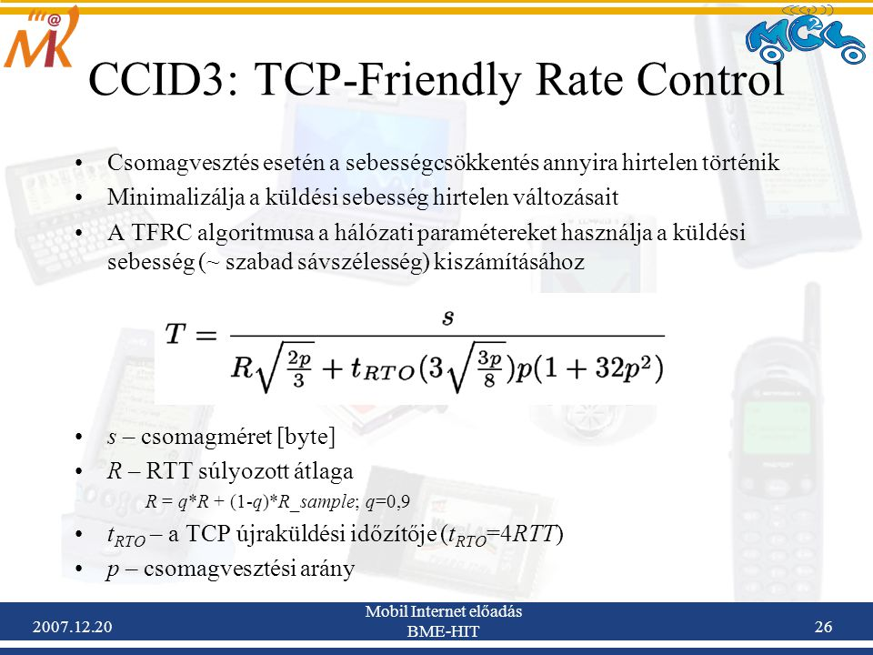 CCID3: TCP-Friendly Rate Control