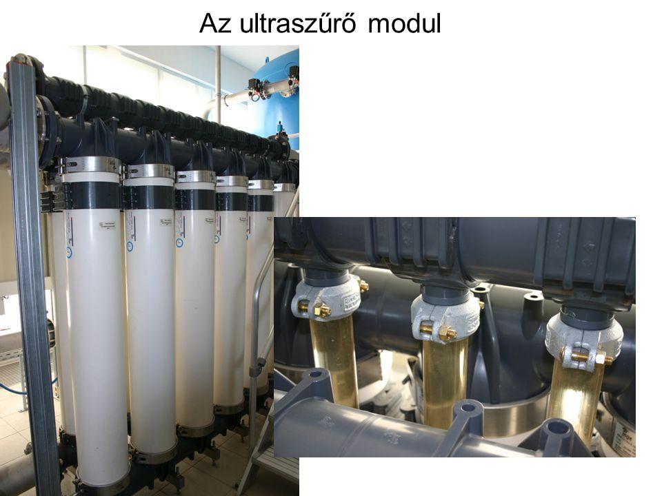 Az ultraszűrő modul