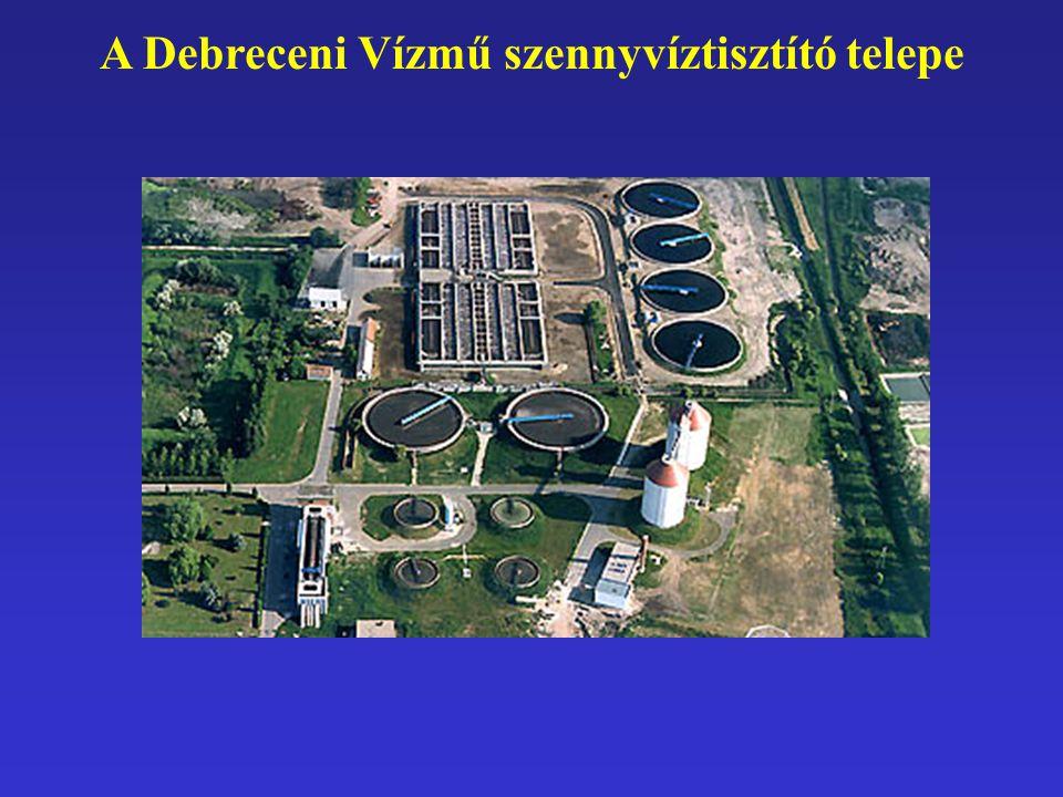 A Debreceni Vízmű szennyvíztisztító telepe