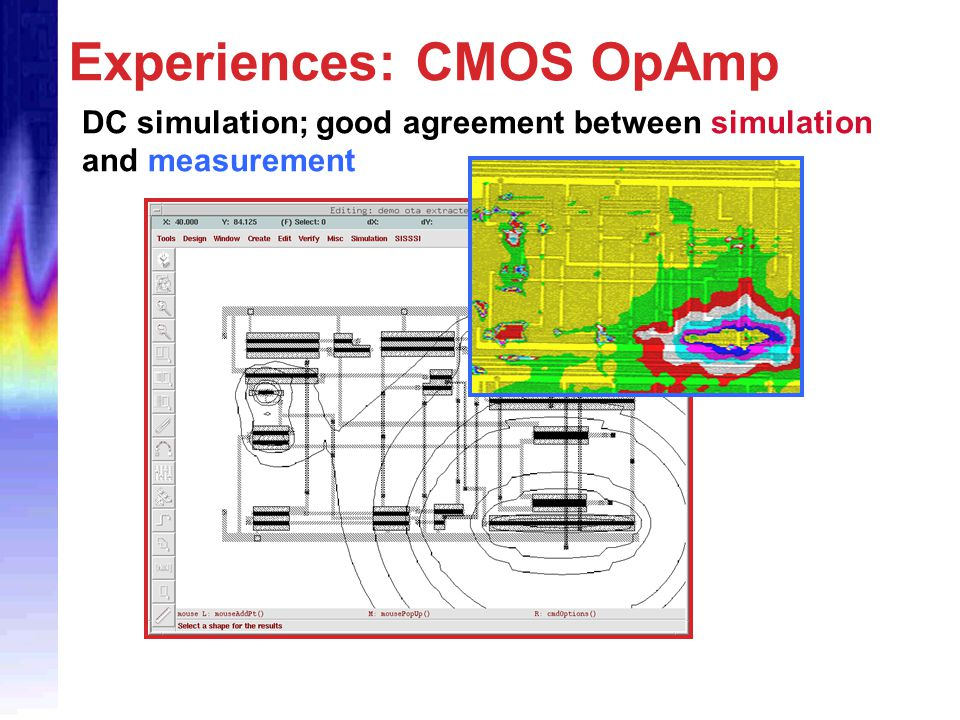 Experiences: CMOS OpAmp
