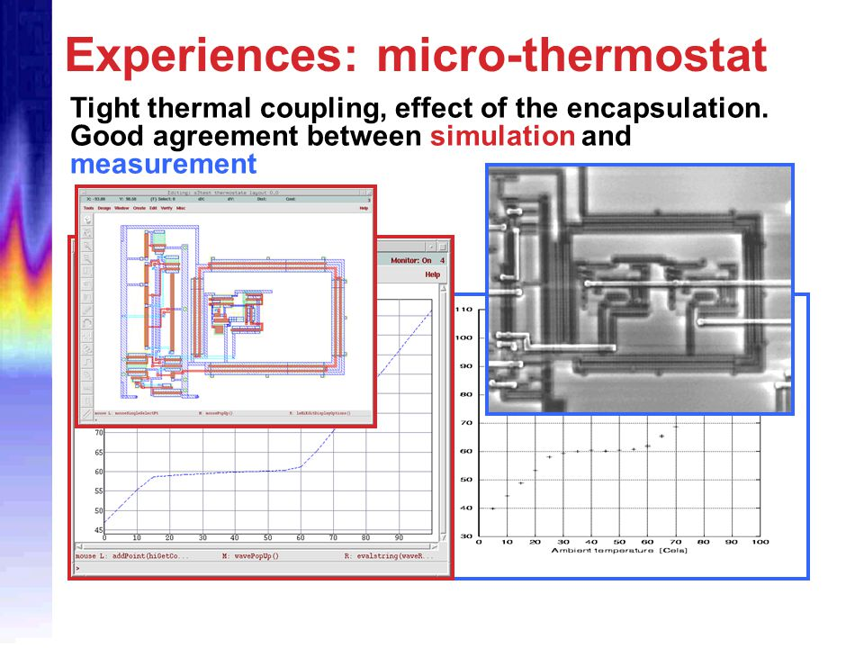 Experiences: micro-thermostat